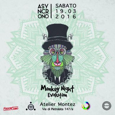 Asyncrono torna al top con la sua Monkey Night (Pt.1)