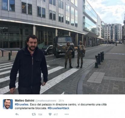 Pasqua? Bruxelles? Cruyff? Il vero protagonista della settimana social  è stato Salvini!